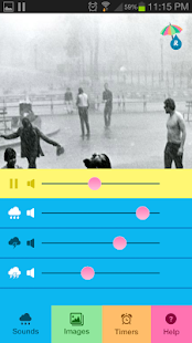 Raining.fm - Rain Sounds - screenshot thumbnail