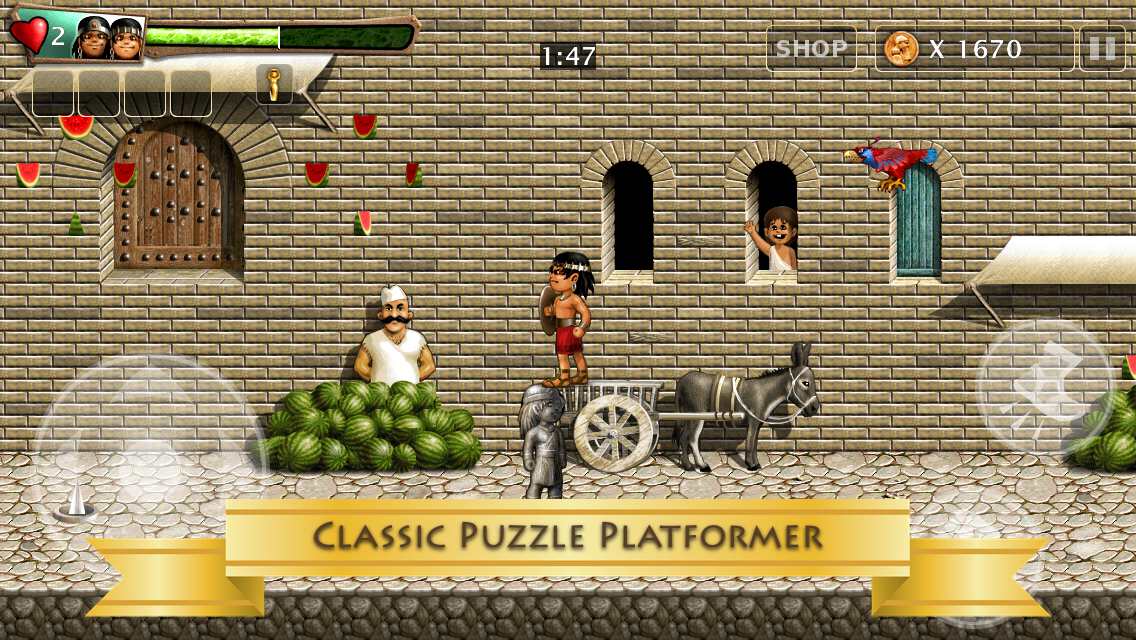 Babylonian Twins Platformer- screenshot