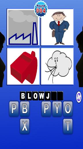 4 Pics 1 Rude Word