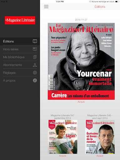 【免費新聞App】Le Magazine Littéraire-APP點子