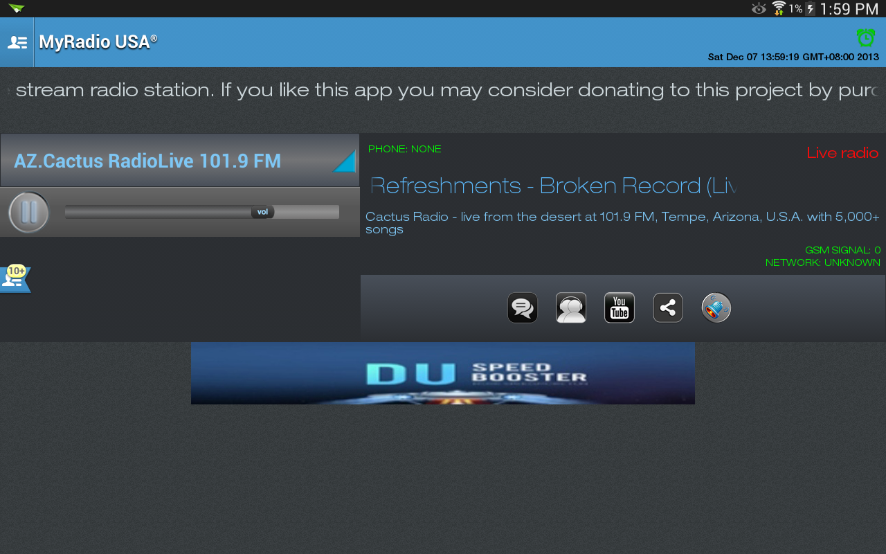 MyRadio USA - screenshot