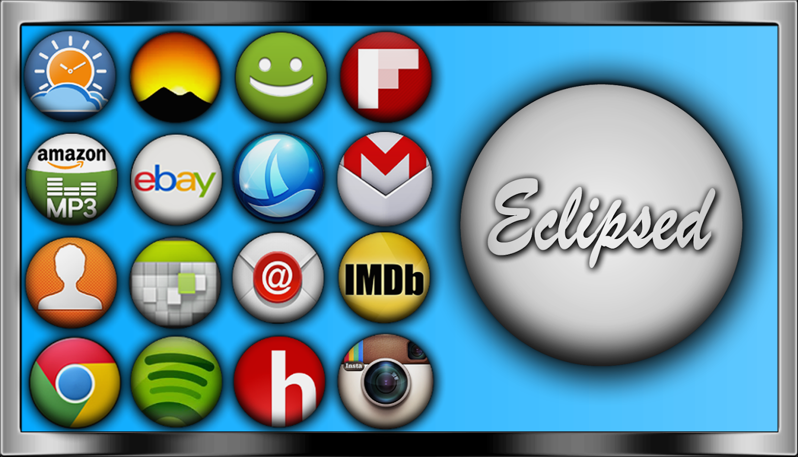 Eclipsed Icon Pack - screenshot