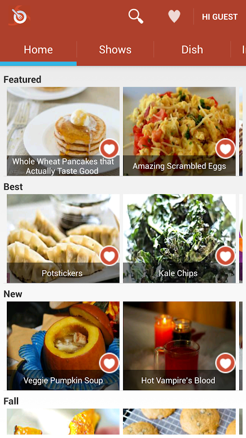 ifood.tv recipe videos- screenshot