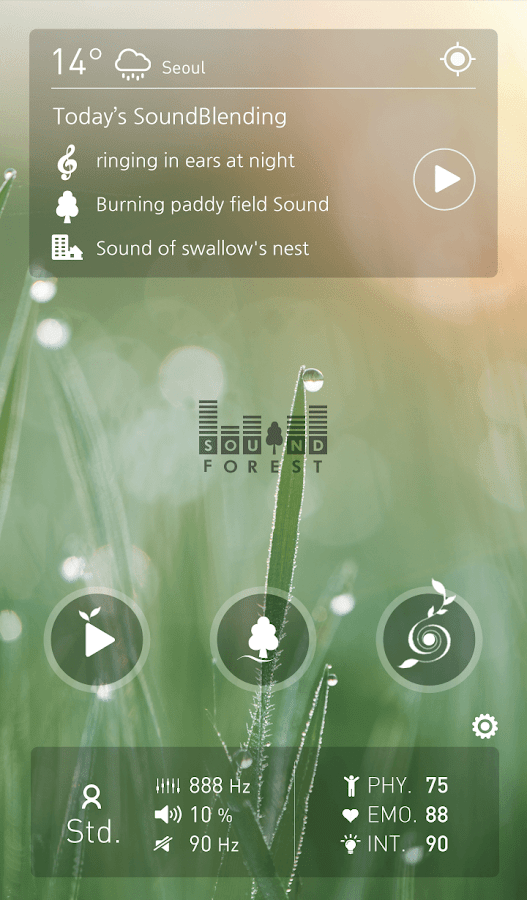 SoundForest Lite- screenshot