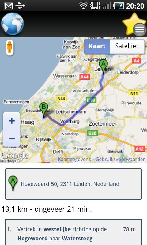 Route planner android apps on google play route planner screenshot gumiabroncs Image collections