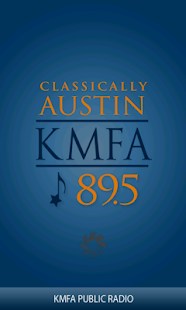 KMFA Public Radio App - screenshot thumbnail