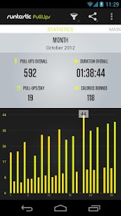 Runtastic Pull-ups Workout- screenshot thumbnail