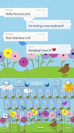 玩免費個人化APP|下載春天的蝴蝶鍵盤 app不用錢|硬是要APP