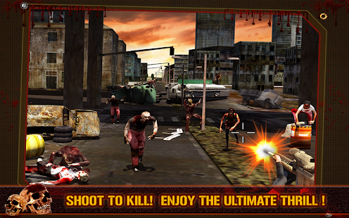 3D Killer: Zombie Hunter