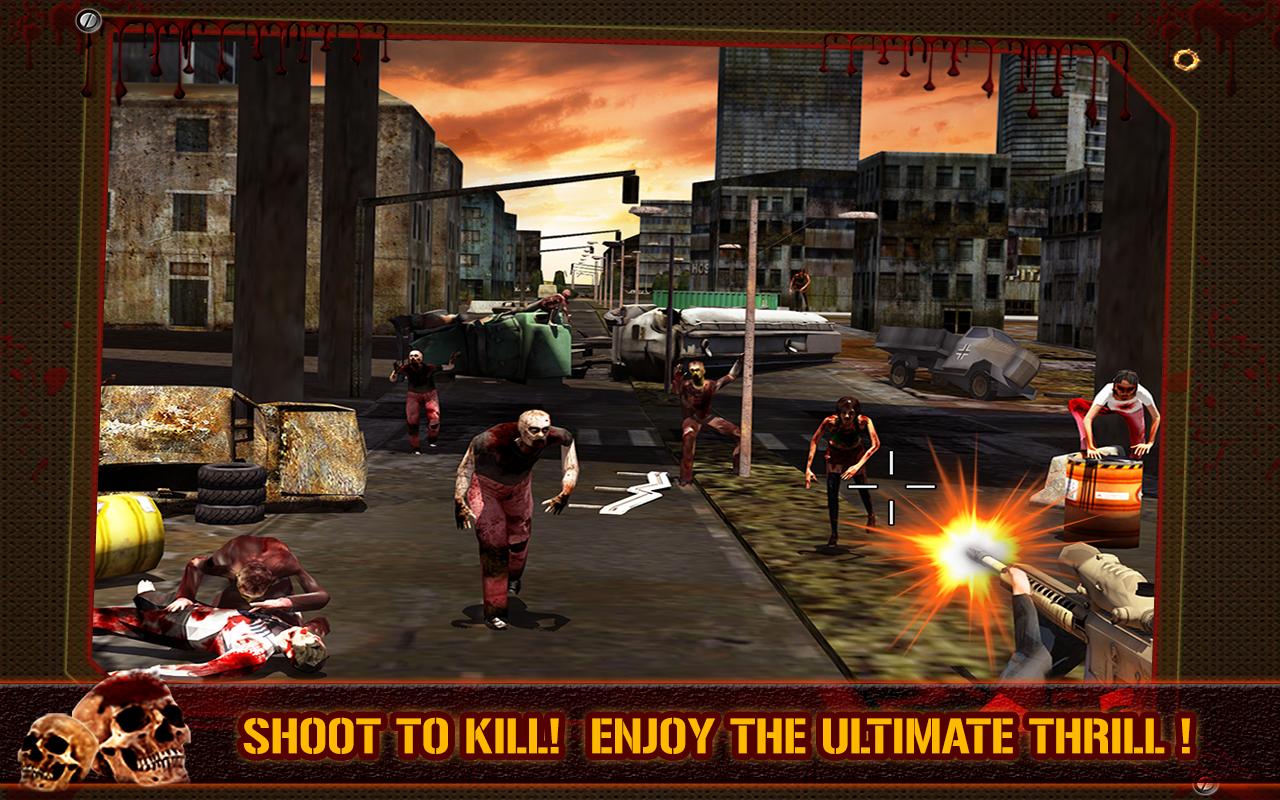 3D Killer: Zombie Killer v1.02 (Juegos 2014)