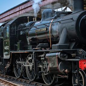 Strathspey Railway Co. by Jacek Steplewski - Transportation Trains ( scotland, railway, station, locomotive, steam train )