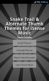 Theme Pack 3 - iSense Music - screenshot thumbnail