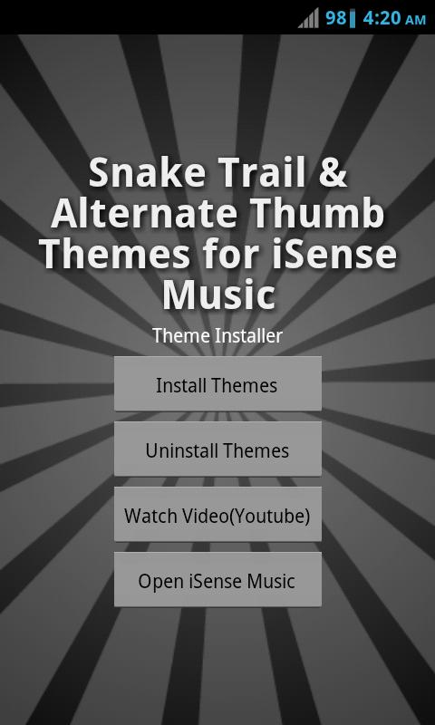 Theme Pack 3 - iSense Music - screenshot