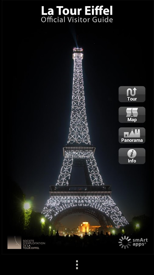 Tour eiffel official guide android apps on google play for Housse tour eiffel
