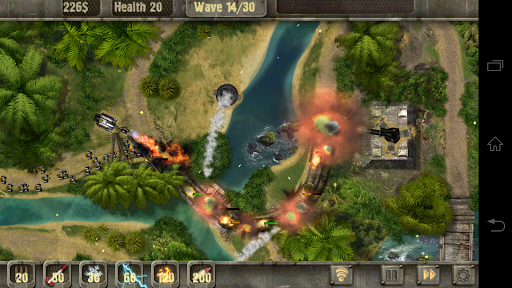 Defense Zone HD game for Android screenshot
