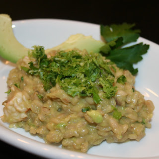 "Shrimp and Avocado ""Ceviche"" Risotto"