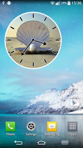 珍珠模擬時鐘