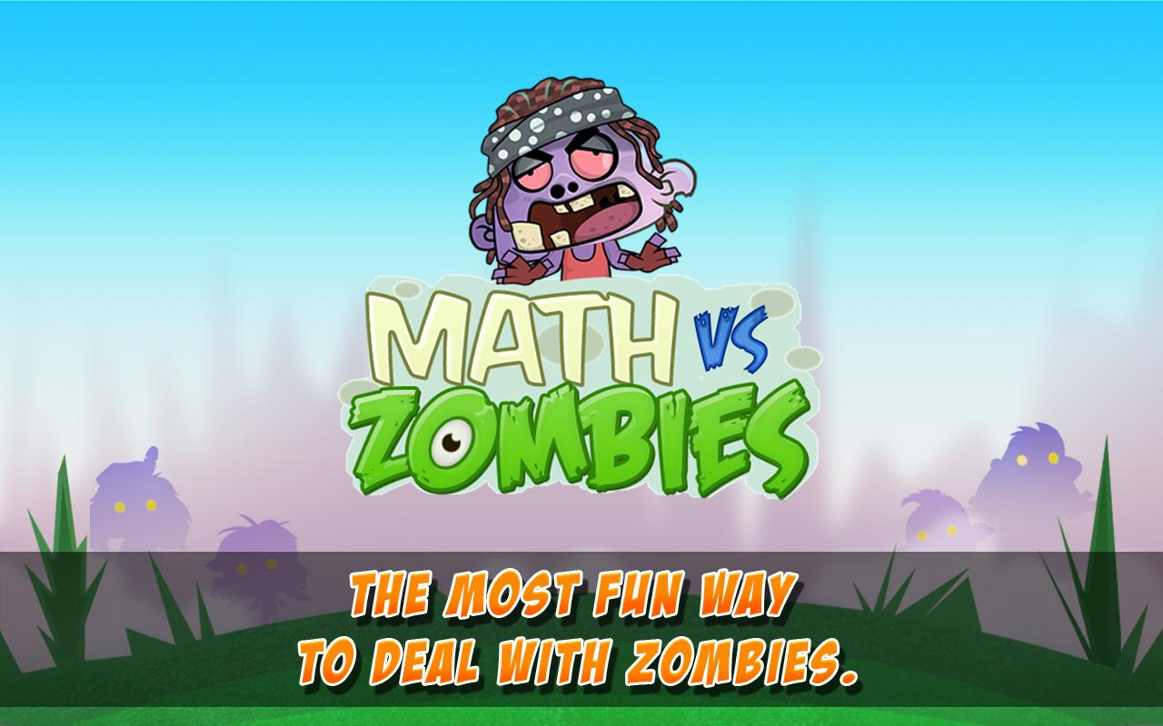 Math Vs Zombies- screenshot
