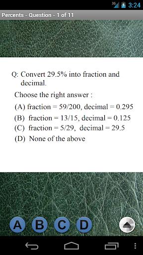 Pre-Algebra - Percents|玩書籍App免費|玩APPs