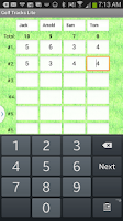 Screenshot of Golf Tracks Lite