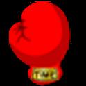 boxer's timer logo