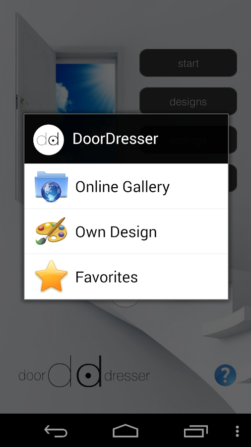 DoorDresser- screenshot