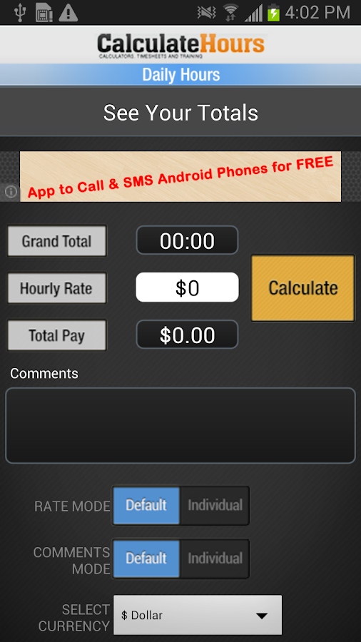 date time calculator 9 in 1 goes free as the myappfree app of