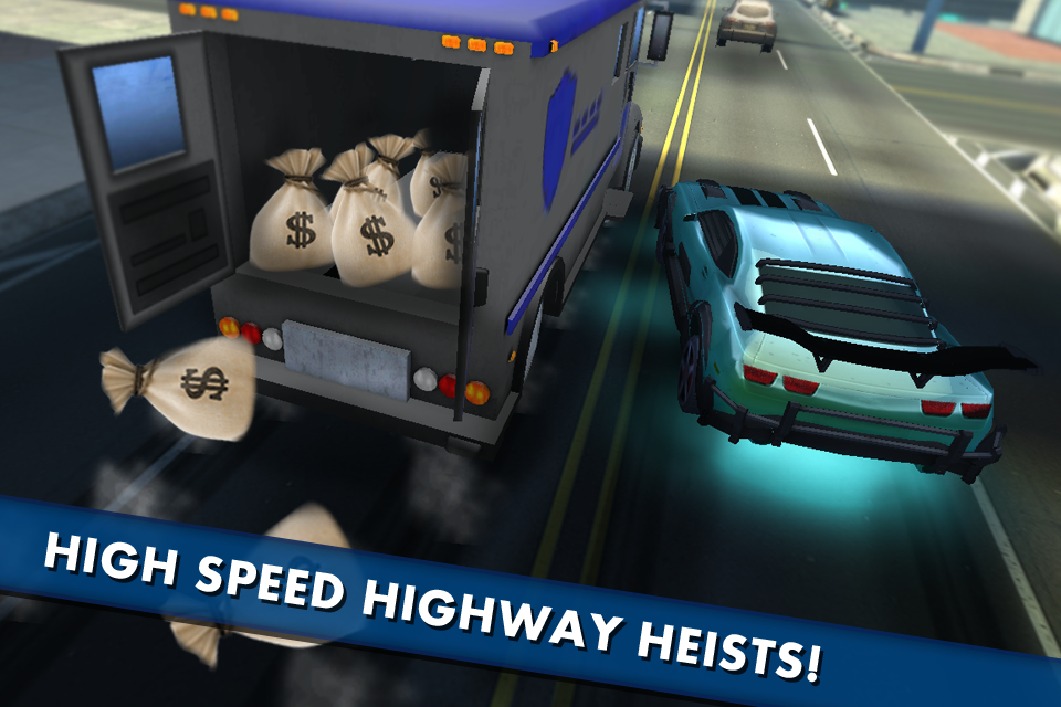 Highway Hei$t - crime rider- screenshot