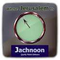מצפן יהודי Where Jerusalem Is logo