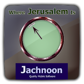 מצפן יהודי Where Jerusalem Is
