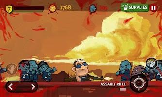 Screenshot of Dante Zomventure