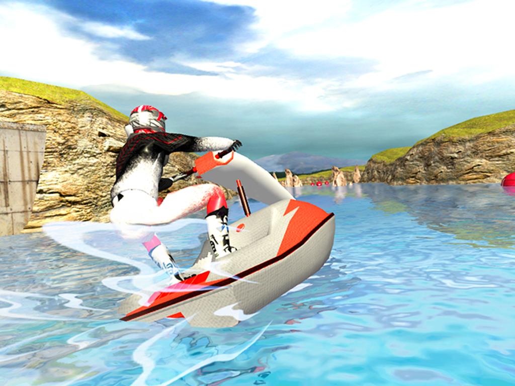 Turbo Jet Ski River Rider 3D - screenshot