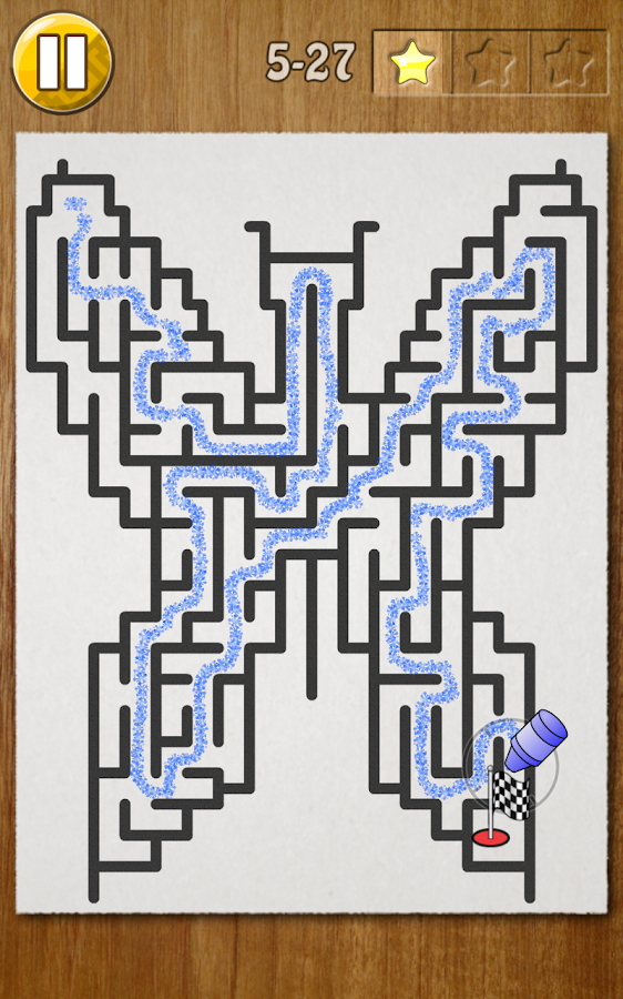 Kids Draw Maze Labyrinth- screenshot