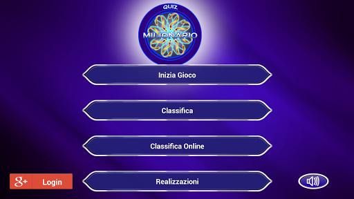 Quiz Milionario Italiano
