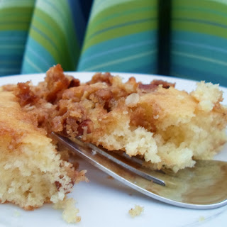 Quick Buttery Coffee Cake (made with Pancake Mix)