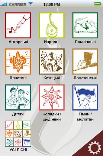 При ватрі - Ukrainian співаник