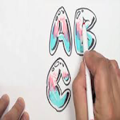 Fill Color in ABCD Drawing App
