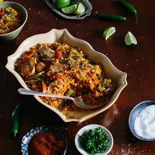 Spanish Pork & Rice.