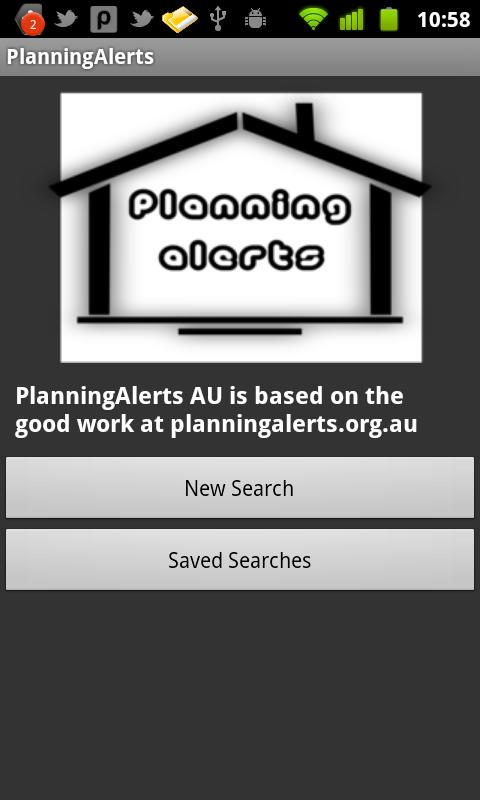 PlanningAlerts AU - screenshot