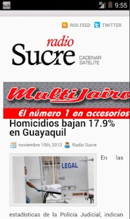 Radio Sucre Ecuador- screenshot thumbnail