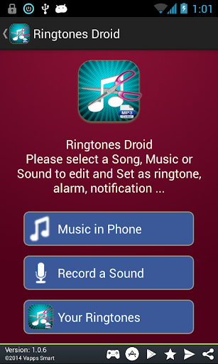 Ringtones Droid Maker