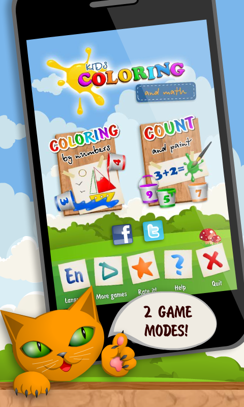 Kids Coloring and Math Free - screenshot