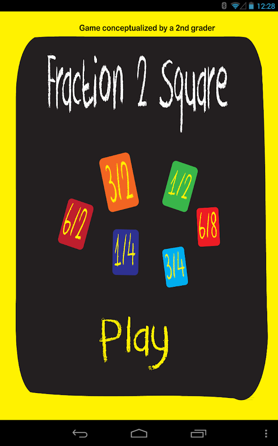 Fraction 2 Square- screenshot