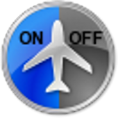 Airplane On/Off Widget