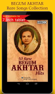 50 Rare Begum Akhtar Hits screenshot