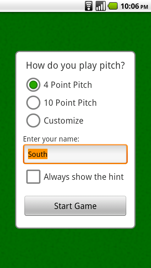 Pitch- screenshot