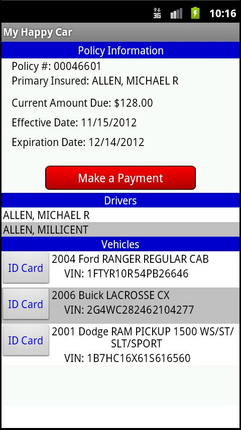 Auto Insurance America - screenshot