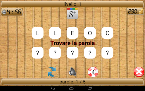 Scramble - Trovare la parola - screenshot thumbnail