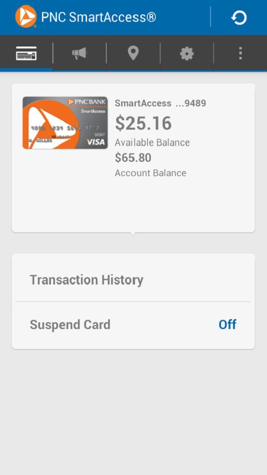 SmartAccess Prepaid Visa Card (Android) reviews at Android