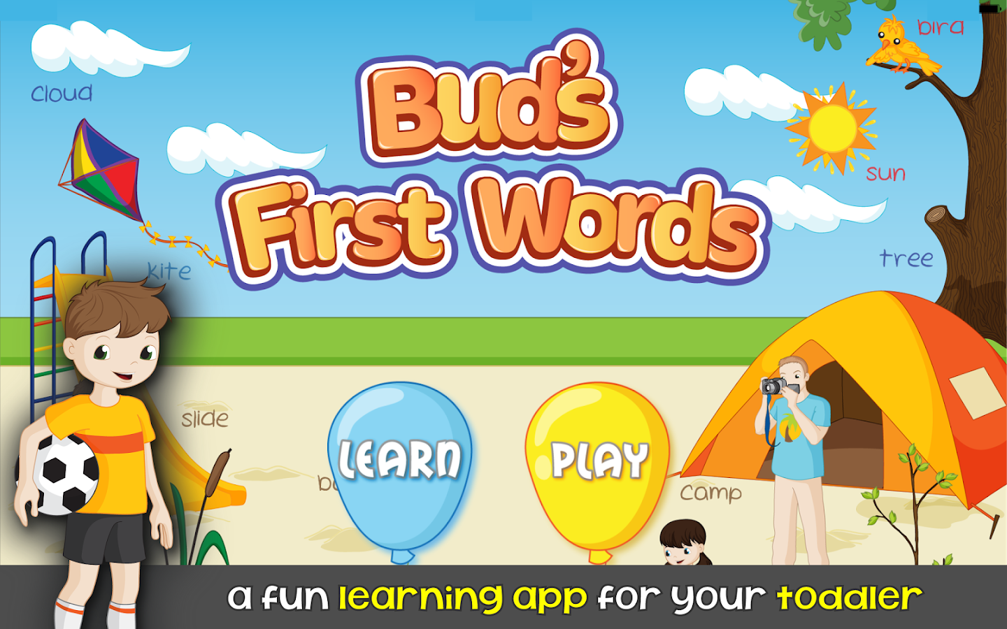Words for Kids - Reading Games - screenshot